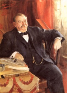 Painting of Grover Cleveland